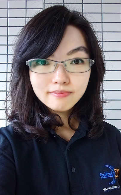 Noelle Liu, new FaitalPRO sales development manager for china