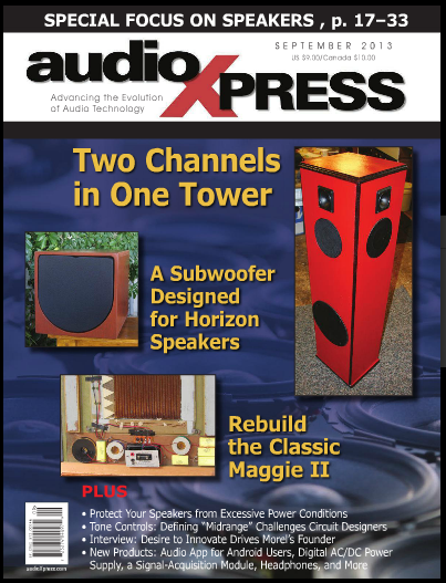 AudioXPress Semptember 2013